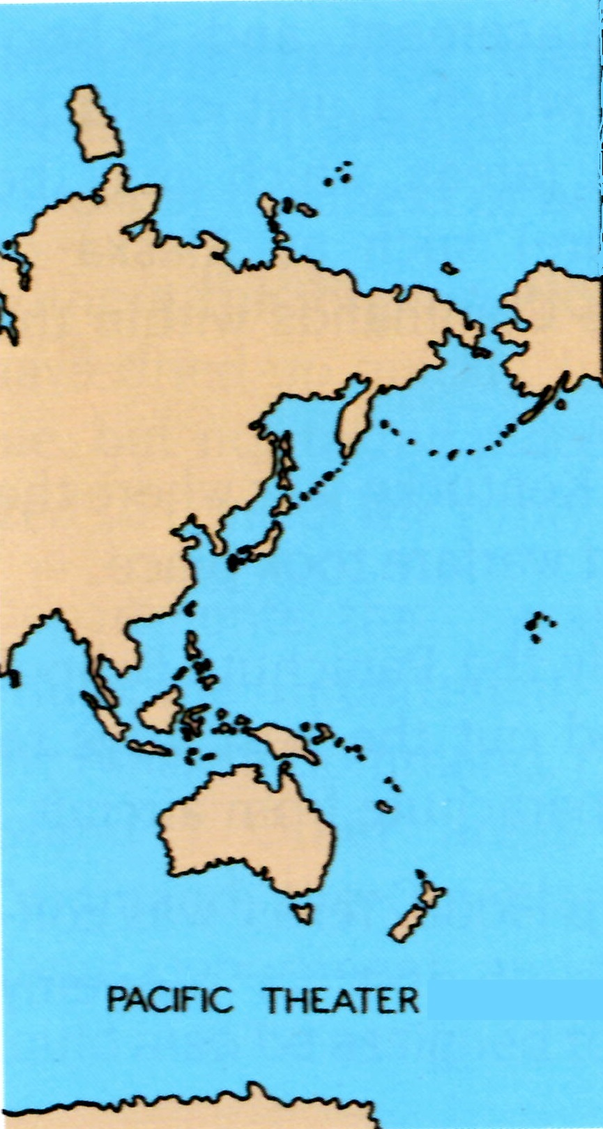 The Asiatic Pacific Theater Of Operations