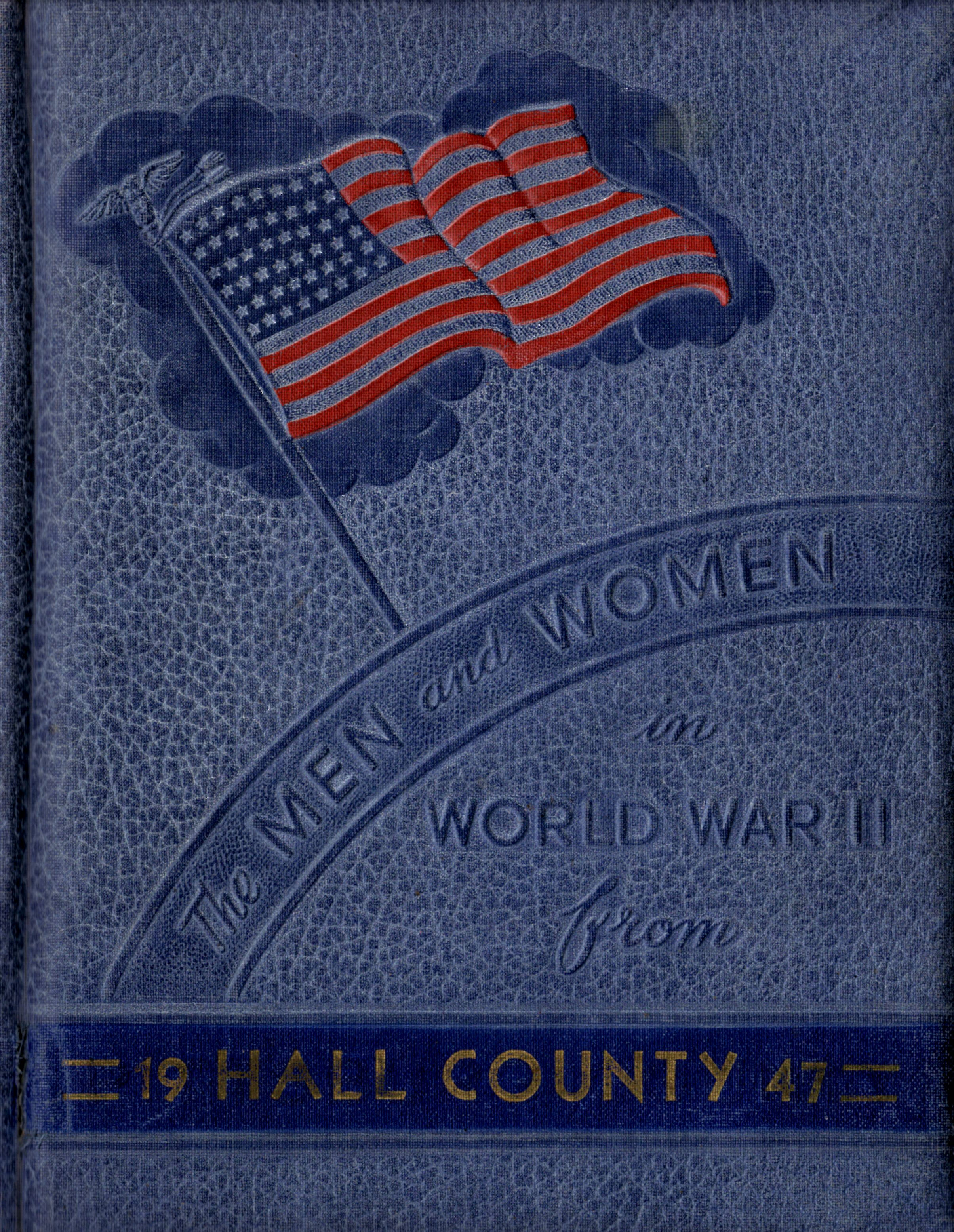Men and women in the Armed Forces from Hall County Texas World War II 2 WW2 WWII