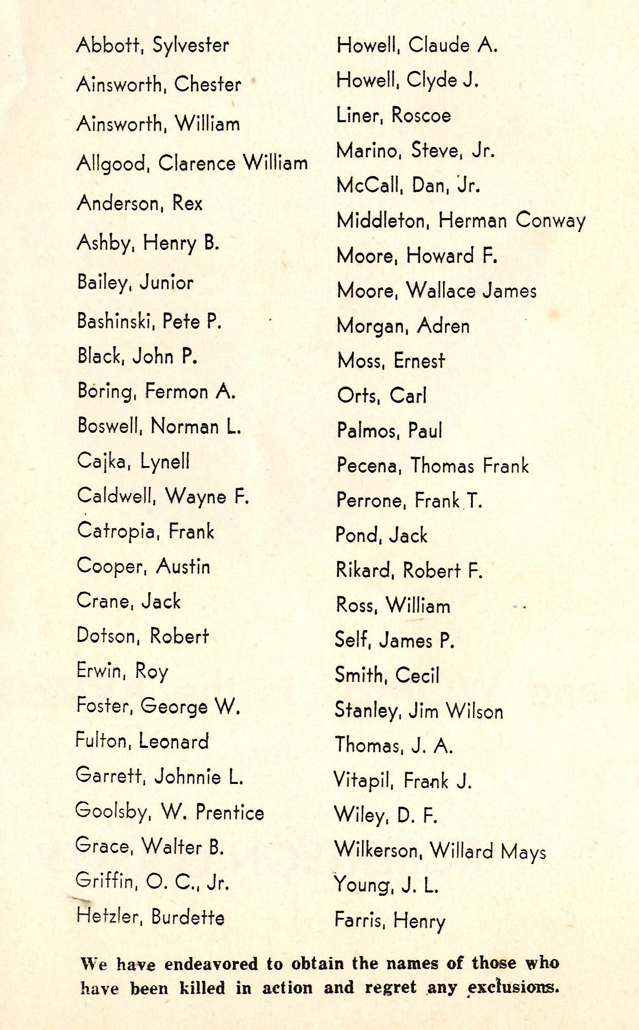 Men and women in the Armed Forces from Robertson County Texas WW2 WWII World War Two 2 II !! 11 Killed in Action KIA