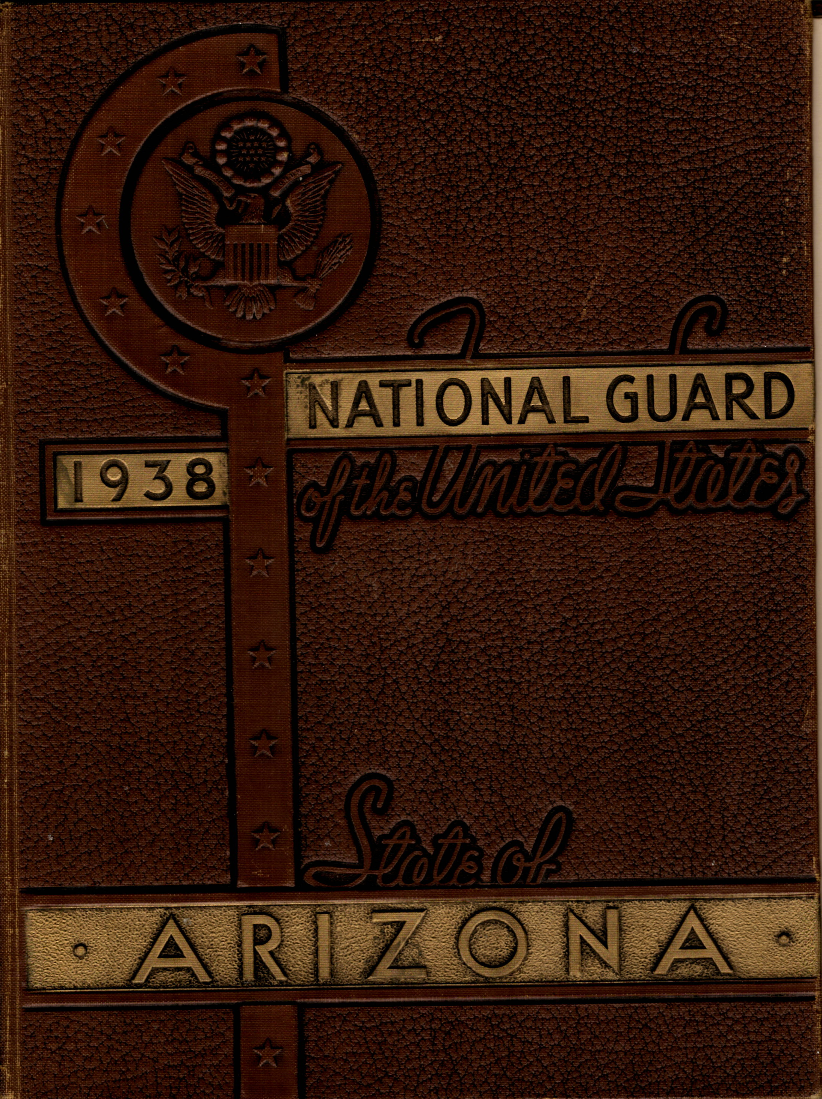 National Guard of the State of Arizona 1938 ww2 WWII
