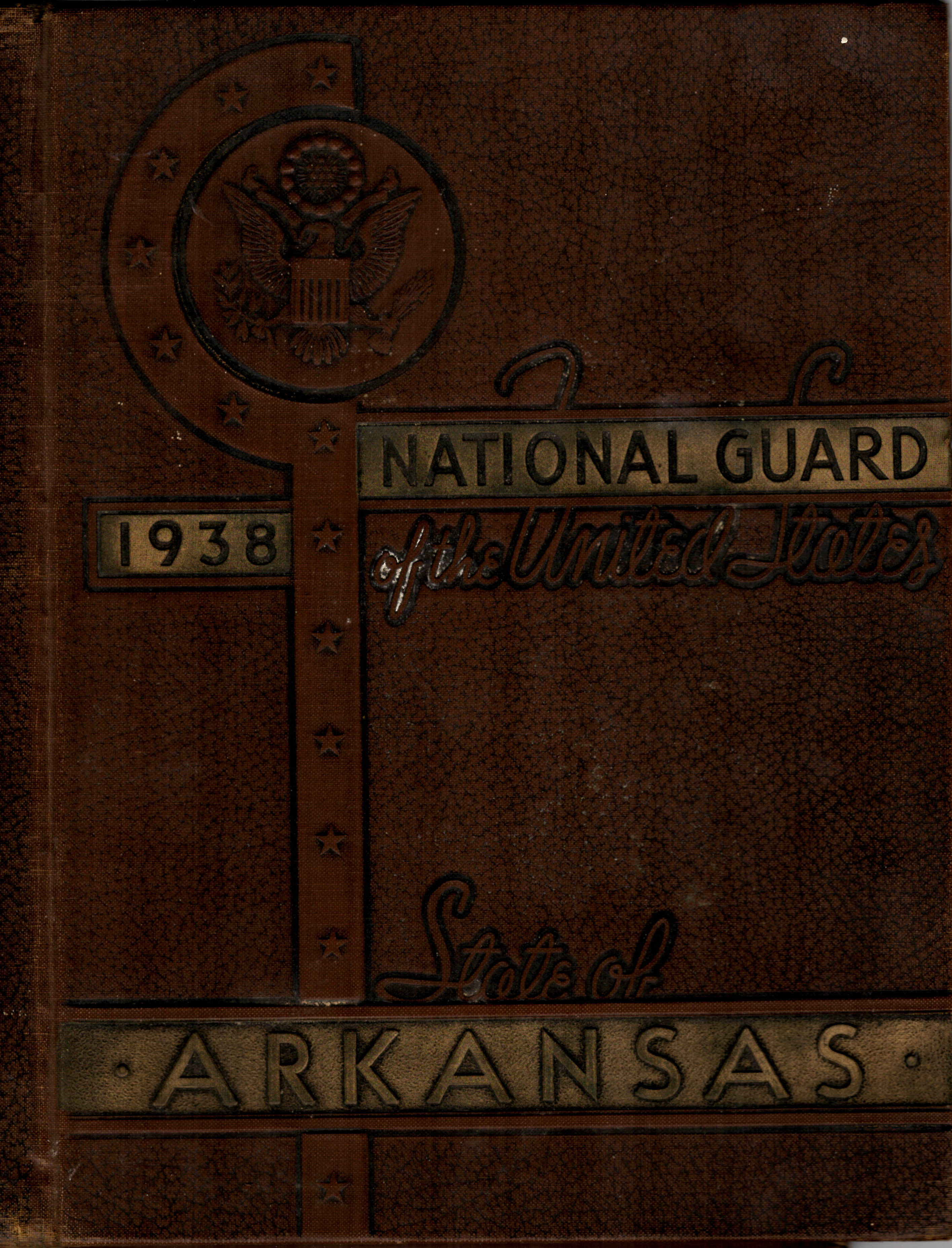 National Guard of the State of Arkansas 1938 WW2 WWII World War Two II 2