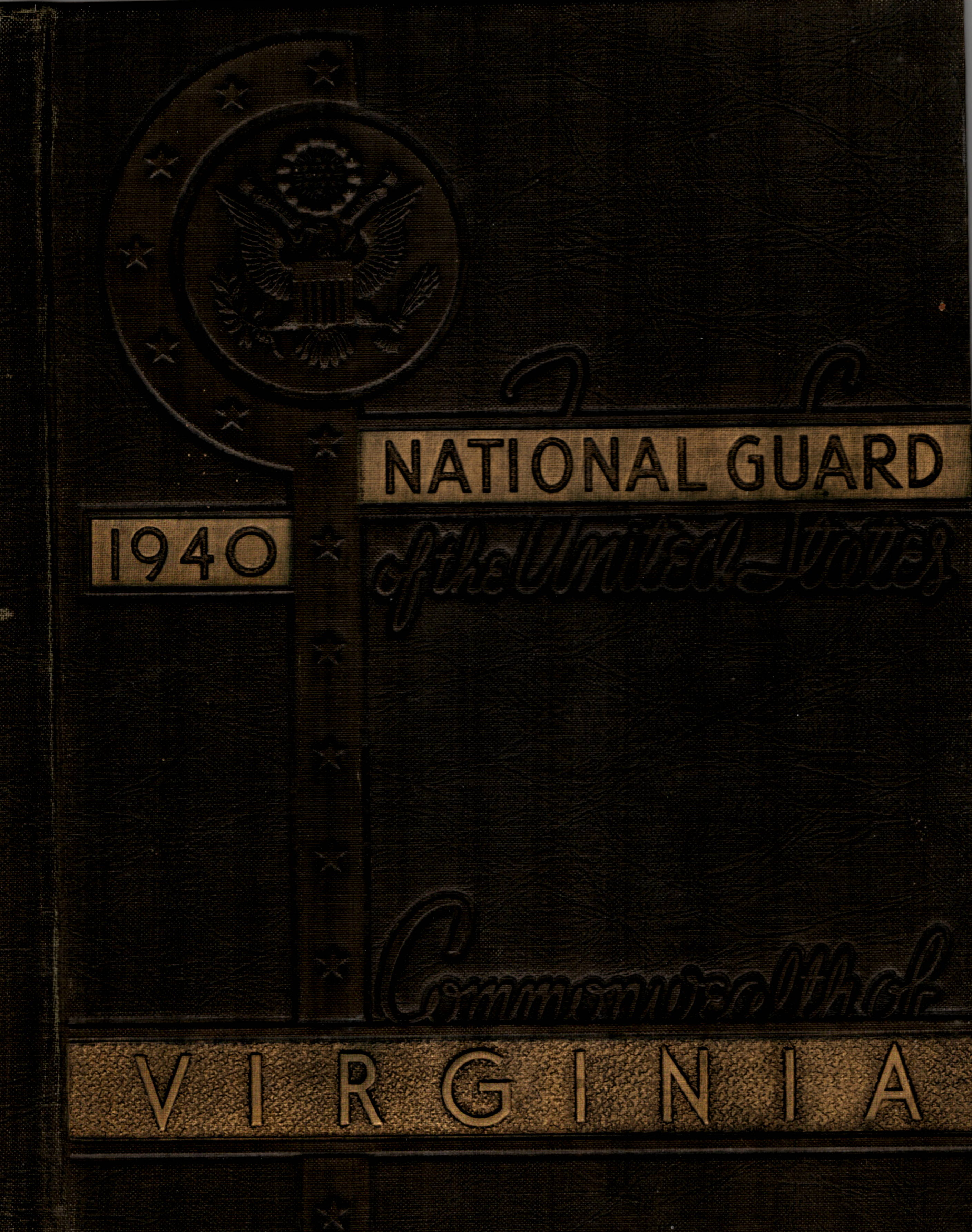 National Guard of the State of Virginia - 1940