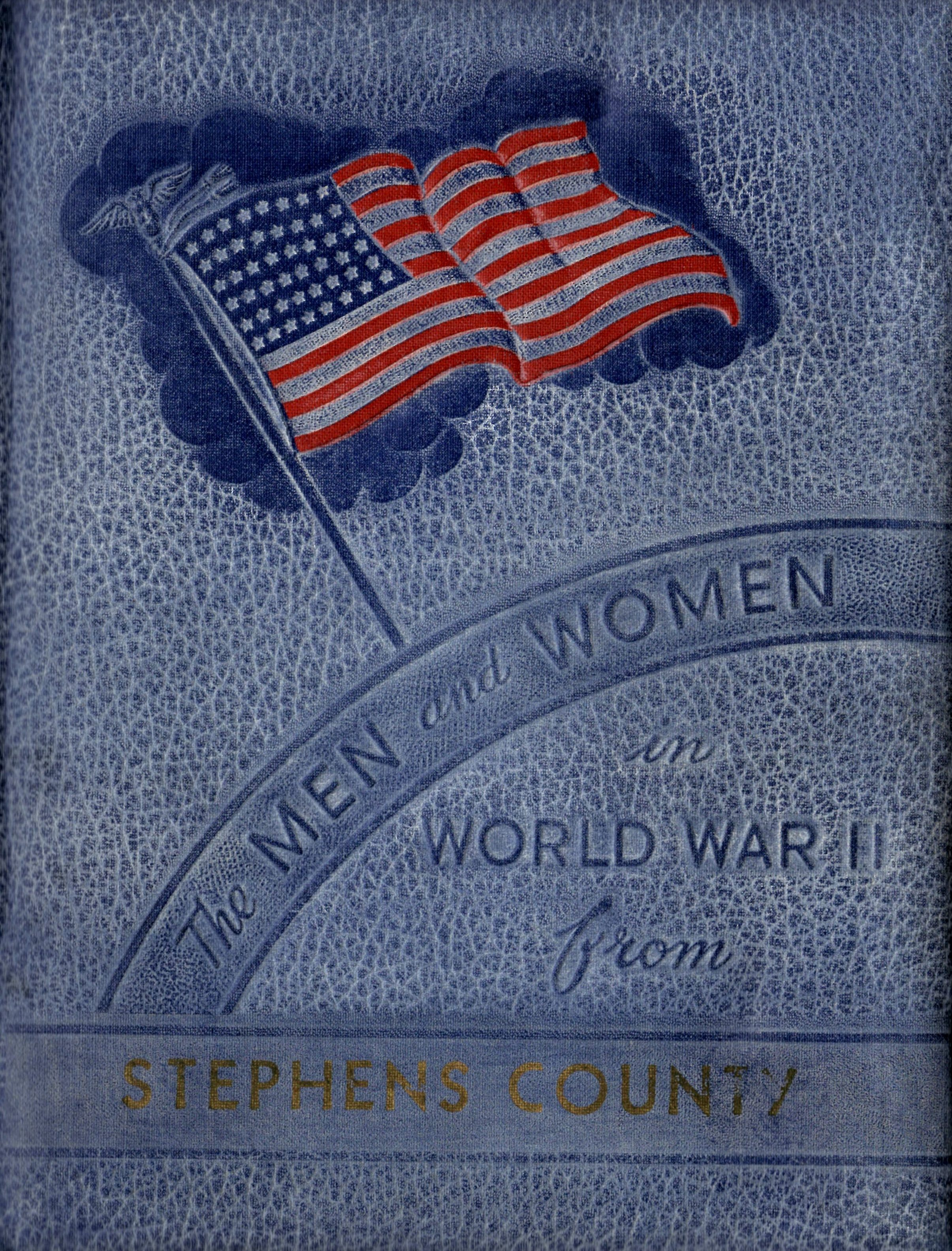 Men and women in the Armed Forces from Stephens County Texas World War Two WW2 WWII