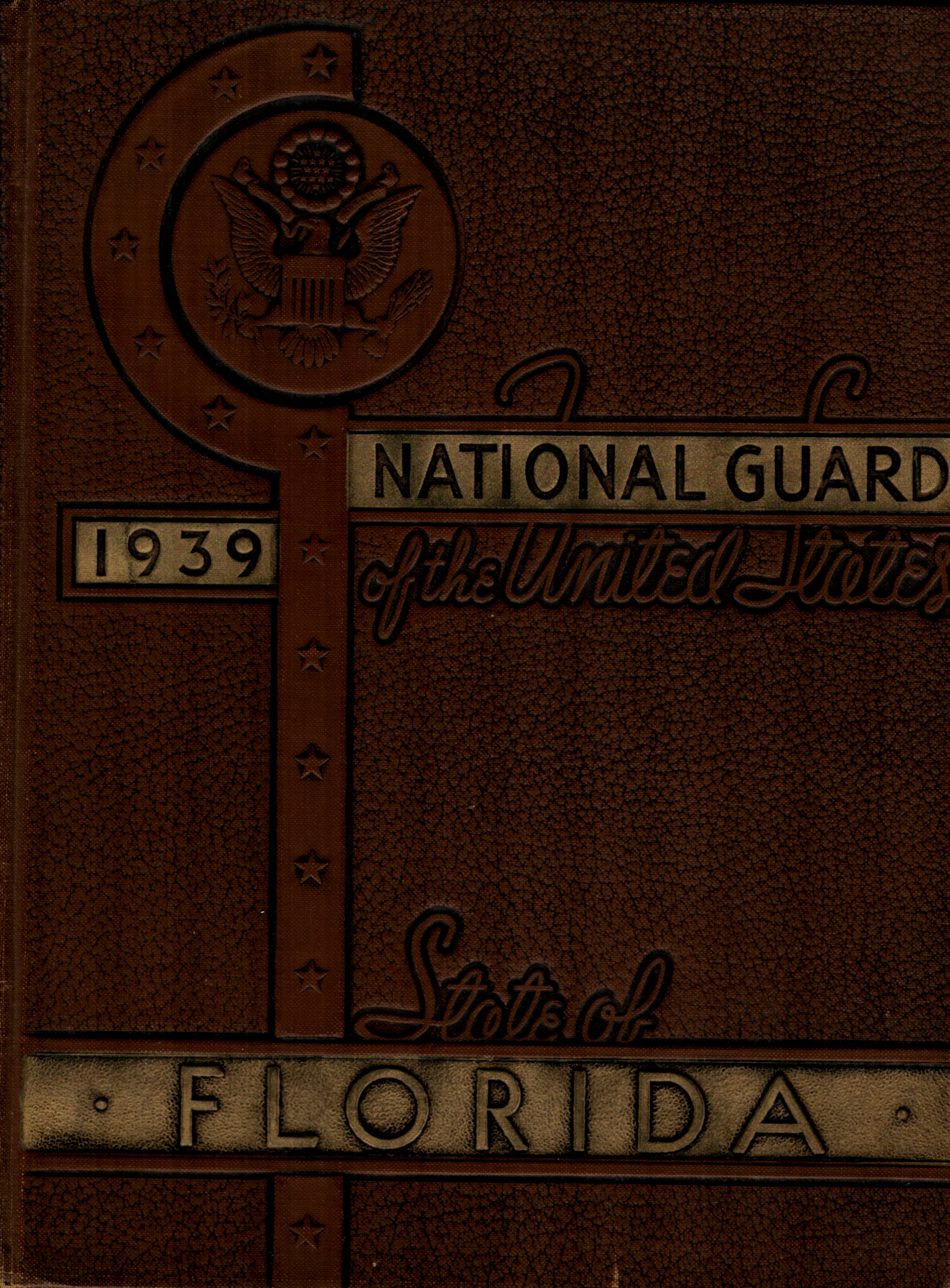 National Guard of the State of Florida 1939 WW2 WWII
