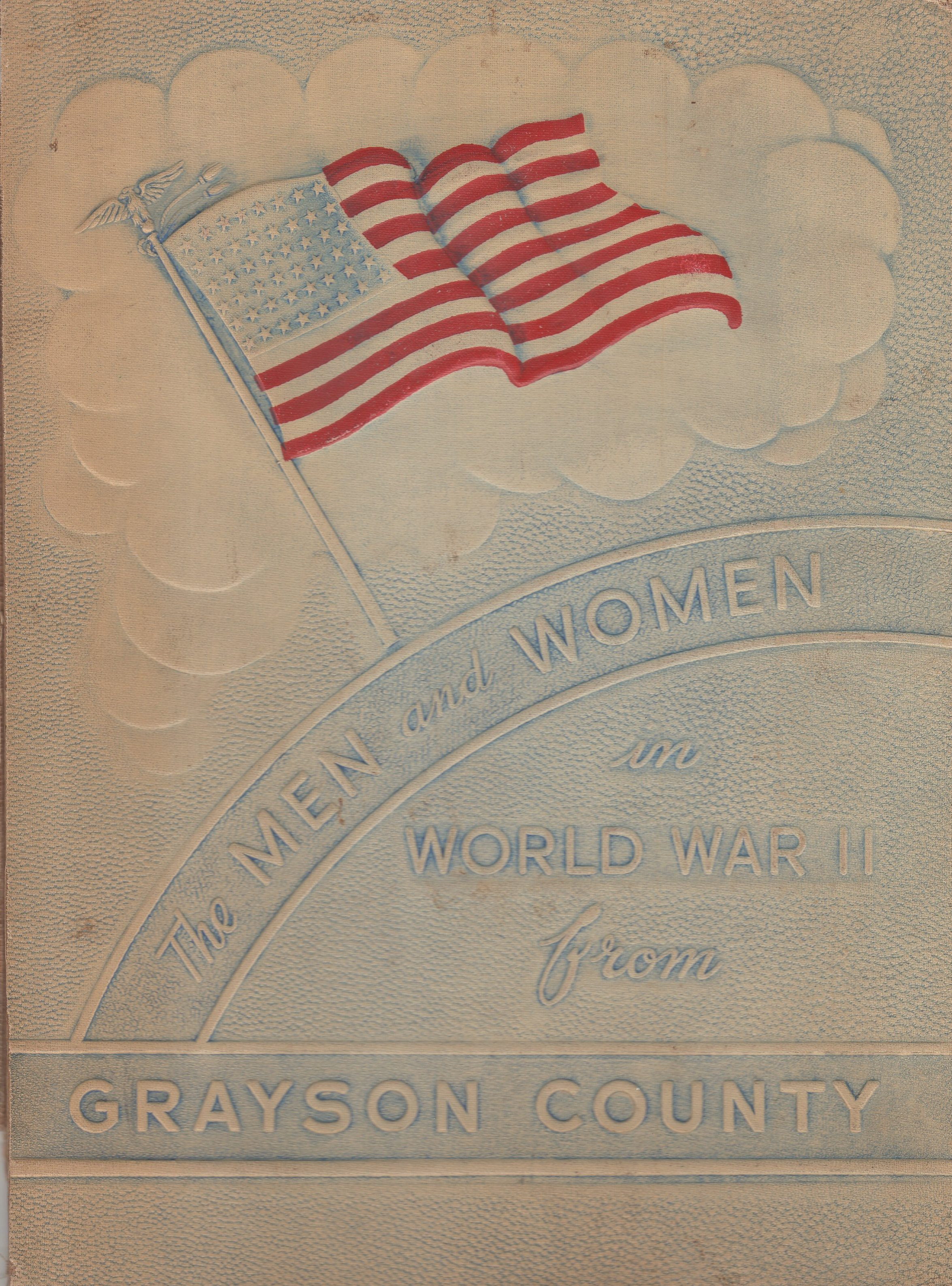 Men and women in the Armed Forces from Grayson County Texas WW2 WWII World War II 2