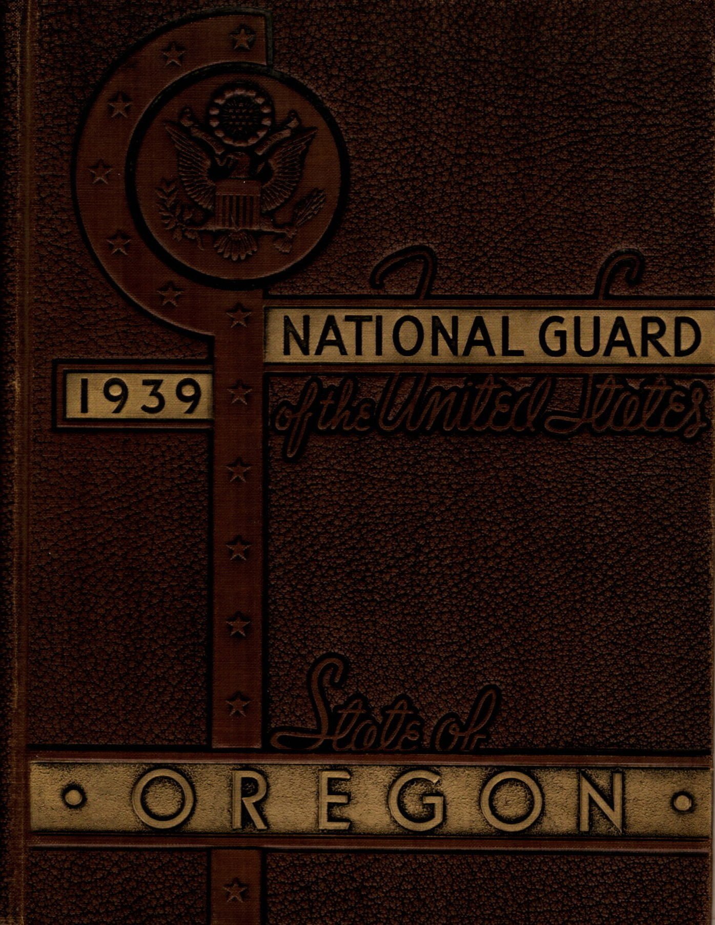 National Guard of the State of Oregon 1938