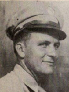 Pfc. Duhart M. Gafford, son of Mrs. J. C. Gafford, attended Corsicana School. Entered the Army in 1940 and trained at Fort Sill. Has served in Honolulu, Marshall Island., Saipan, Tinian, Leyte and Okinawa, where now on duty as of 1946. He has 5 Bronze Stars battle stars.
