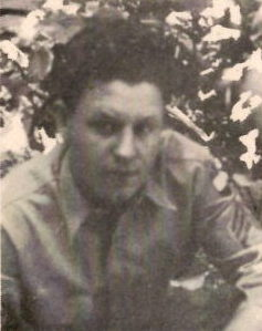S/ Sgt. Jospeh C. Gafford, Jr., US Army. He was the son of Mrs. J. C. Gafford, Sr., and the brother of Pfc. Duhart M. Gafford, Jospeh was the husband of Mrs. Modena Gafford, he attended Corsicana Schools. He entered the service, in 1940, trained with 63rd Infantry at Camp Robinson and Camp Wolters. As of 1946 he was on duty in France.