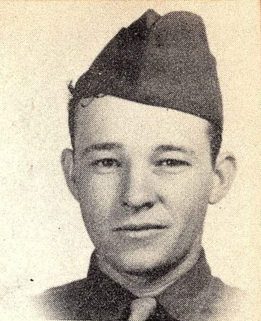 Sgt. Marvin Wayne Brown 38536861, US Army Air Corps KIA. He was the son of Mr. and Mrs. Ruby A. Brown of Dublin, Texas. He was born on July 24, 1925. He graduated from Dublin High School. He entered the Army in 1943; at the age of 18. At the time of his enlistment he was working for Kaiser Co Inc. He was 5 foot 11 inches tall weighed 174 pounds had brown hair and gray eyes. Hetrained at Sheppard Field, Texas, Dyersburg, Tenn., and Kingman Field, Arizona. He served in England and Germany with the 336th bomber squadron, 95th Bombardment Group, 8th Air Force. Awarded the Purple Heart Medal and a Presidential Unit Citation. Killed over Germany on September 28, 1944 at the age of 19.